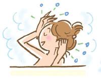 洗髪マッサージで汚れを落としやすくしましょう